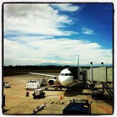 Photo taken at Aeropuerto Internacional El Tepual (PMC) by Estefania Q. on 1/3/2013
