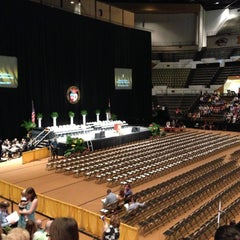 Photo taken at Hearnes Center by Eric Z. on 5/18/2013