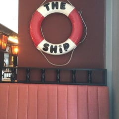 Photo taken at The Ship Restaurant & Bar by Matilda L. on 10/29/2014