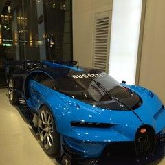 Photo taken at Bugatti | Automobil Forum Unter den Linden by Pelin K. on 11/22/2015