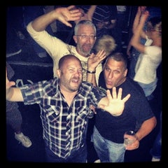 Photo taken at Hunter's Night Club by Steve S. on 9/22/2013