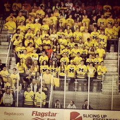 Photo taken at Yost Ice Arena by Urban S. on 10/13/2012