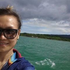 Photo taken at Umang Island Resort by Nancy T. on 1/3/2014