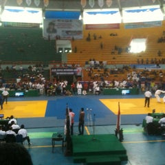 Photo taken at GOR Sudiang by aris t. on 11/29/2014
