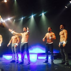 Photo taken at Chippendales Theatre at The Rio Vegas by Alla M. on 9/23/2015