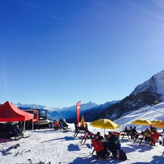 Photo taken at Courmayeur by Alla M. on 1/3/2015