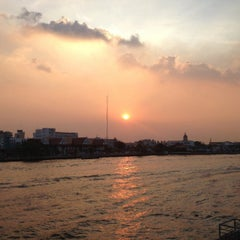 Photo taken at Chao Phraya River by LadyFirst on 12/4/2012