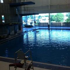 Photo taken at Greensboro Aquatic Center by Jenilyn S. on 7/6/2015