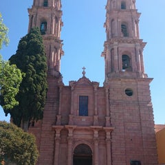 Photo taken at San Luis de la Paz by Michel V. on 2/22/2015
