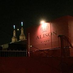 Photo taken at Alison Café by Jair O. on 6/28/2015