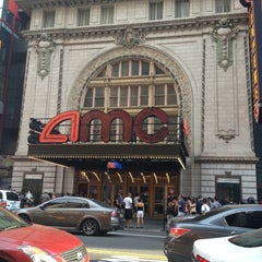 Photo taken at AMC Empire 25 by Dan Q. on 7/27/2013