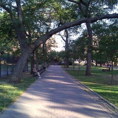 Photo taken at St. James Park by Kwasi A. on 9/19/2014