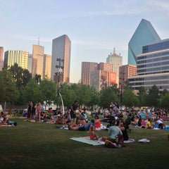 Photo taken at Klyde Warren Park by Connor on 6/28/2013