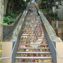 Photo taken at Hidden Garden Mosaic Steps by Ingo R. on 4/3/2016