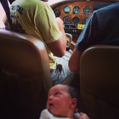 Photo taken at Reigle Airport by Amanda S. on 9/21/2014