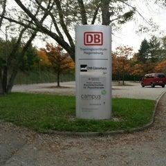 Photo taken at DB Trainingszentrum & Gästehaus Regensburg by Attila C. on 10/5/2014