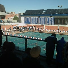 Photo taken at Hillenbrand Aquatic Center by Brian T. on 11/11/2012