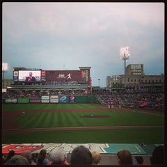 Photo taken at Fort Wayne TinCaps Baseball by Mary S. on 7/4/2013