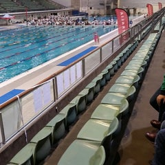 Photo taken at Sydney Olympic Park Aquatic Centre by Dan B. on 5/2/2015