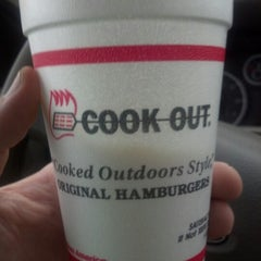 Photo taken at Cook-Out by Jason W. on 12/16/2012