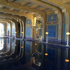 Photo taken at Hearst Castle Roman Pool by Casey on 6/7/2014