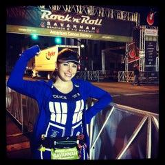 Photo taken at Rock n Roll Savannah Marathon Start by 🎀Karen🌈 on 11/3/2012