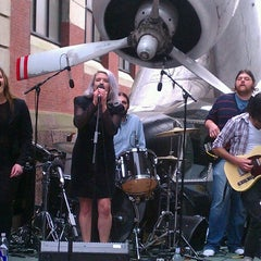 Photo taken at Lenfest Plaza by Tinsel & Tine (. on 4/18/2013