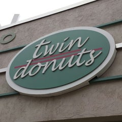 Photo taken at Twin Donuts by Bob C. on 4/3/2015