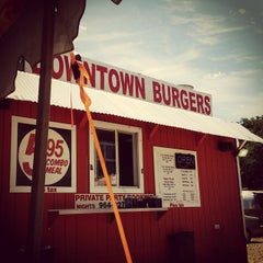 Photo taken at Down Town Burgers by Scott F. on 6/8/2015
