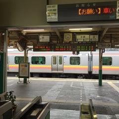 Photo taken at 東三条駅 (Higashi-Sanjo Sta.) by bitou n. on 7/17/2015