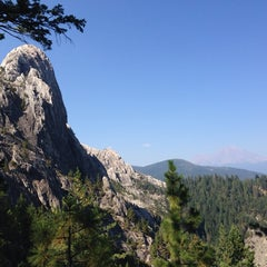 Photo taken at Castle Crags State Park by Liz P. on 9/3/2014