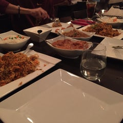 Photo taken at Saffron Indian Cuisine by Yara A. on 12/31/2014