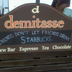 Photo taken at Cafe Demitasse by Anthony L. on 3/9/2013