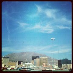 Photo taken at Puente Internacional Santa Fe (Paso Del Norte) by Leo M. on 2/17/2013