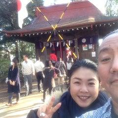 Photo taken at 長尾神社 by 貴久 安. on 1/1/2014