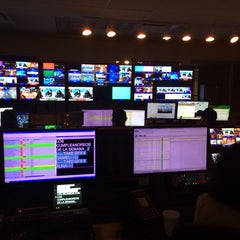 Photo taken at Univision Tower by Jackie O. on 2/25/2014