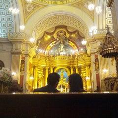 Photo taken at Iglesia San Pedro de Lima by Demis E. on 1/19/2013