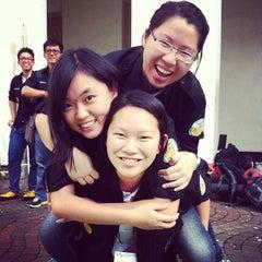 Photo taken at Fakultas Kedokteran Universitas Indonesia by Erika S. on 1/18/2014