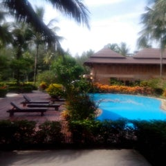 Photo taken at Andamania Beach Resort & Spa by Jim A. on 4/18/2013