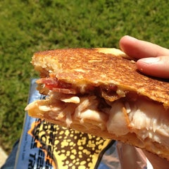 Photo taken at The Grilled Cheese Truck by Elissa M. on 2/14/2013