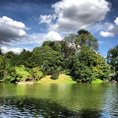 Photo taken at Bois de Boulogne by Clement B. on 7/28/2013