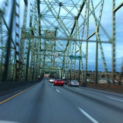 Photo taken at Interstate Bridge by John L. on 4/2/2013