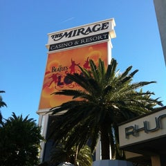 Photo taken at The Mirage Hotel & Casino by Sarina on 10/28/2012