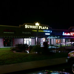Photo taken at Sunset Plaza by Zach R. on 12/5/2015