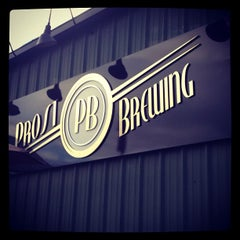 Photo taken at Prost Brewing by Lara S. on 11/19/2012