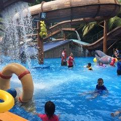 Photo taken at Wet World Shah Alam by Amalina F. on 6/7/2015