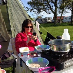 Photo taken at Scarborough Camping and Caravanning Club by Sebastian M. on 5/26/2013