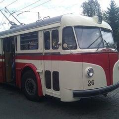 Photo taken at Michálkovice (bus) by Michal Š. on 9/15/2012