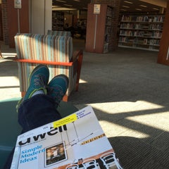 Photo taken at Washburn Library by Janelle N. on 4/4/2015