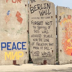 Photo taken at Berlin Wall by James S. on 7/21/2013